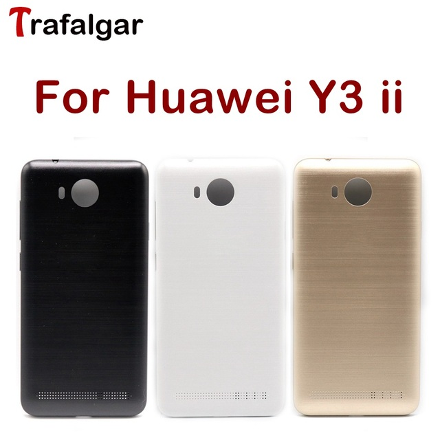 US $4 99  For Huawei Y3 ii Battery Cover Rear Door Back Housing Case  Chassis For Huawei Y3 II Battery Cover LUA L21 LUA U22 Replacement-in  Mobile