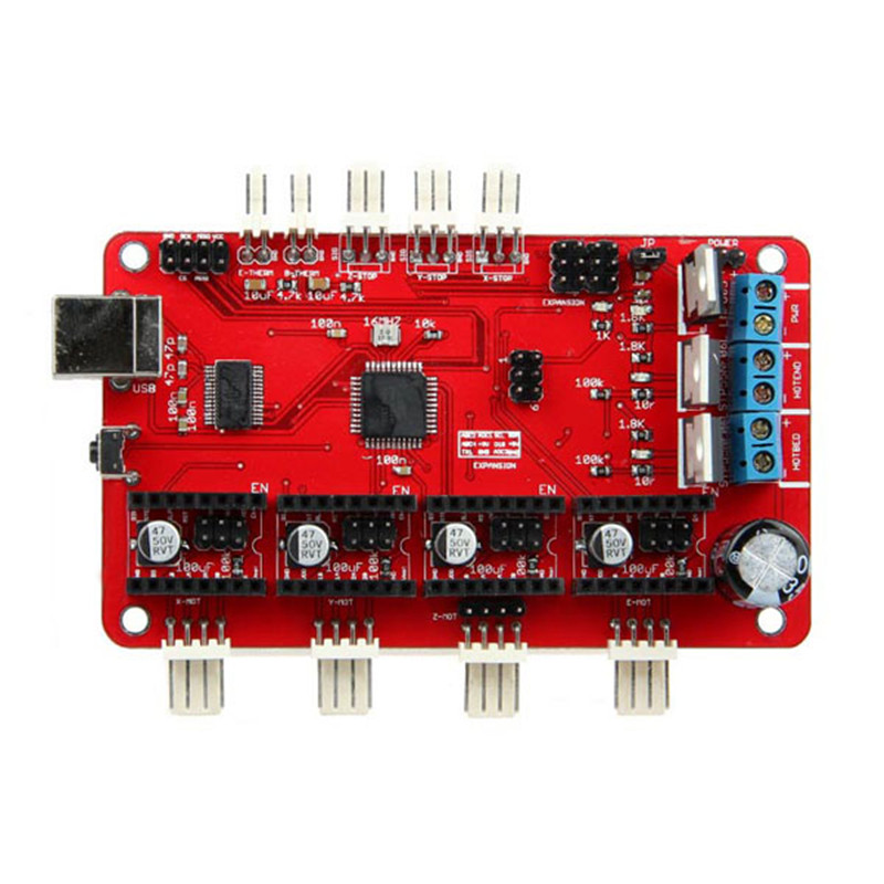3D Printer Module For Azteeg RepRap Controller Main Board Panel Compatible Control Board Motherboard FT232RL FTDI USB chip printer control board motherboard for crystaljet cj6000 cj3000 heating panel three heater