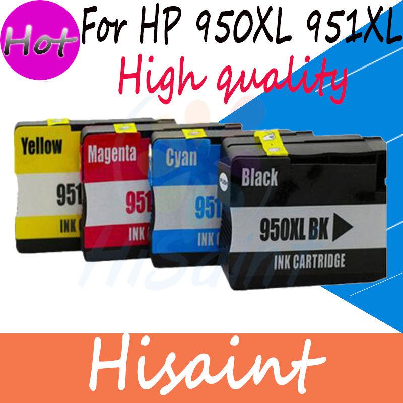 hisaint Compatible for HP 950 951 950 XL 951XL Ink cartridges for HP Officejet Pro 8100 Pro 8600-N911 Printer with chip