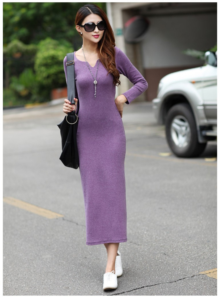 Long casual dresses on sale - Best Dressed