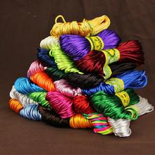 2.5mm 200meters Craft DecorativeTwisted Cords Thread DIY Handmade Accessories Home Decoration Cord Wholesale 20meters/piece
