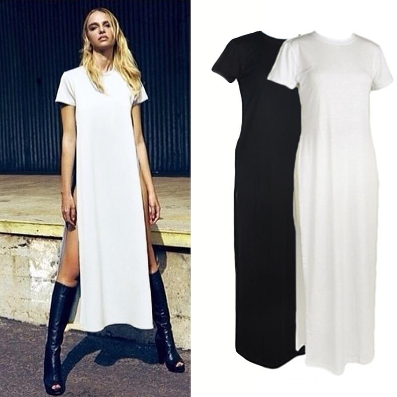 Long T Shirt Maxi Dress