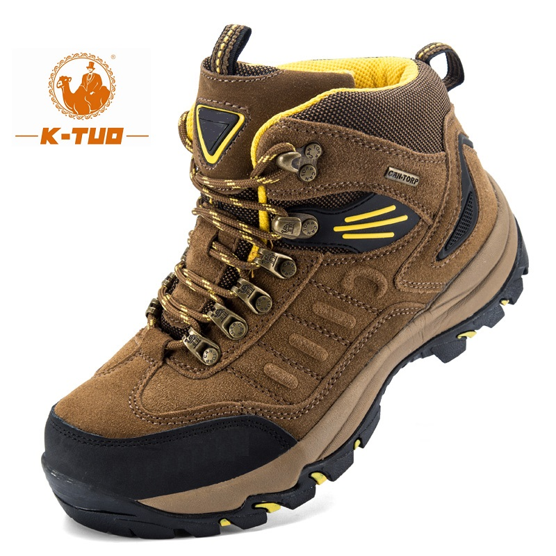 Hiking Shoes Mountain Outdoor Sports-Boots Breathable Winter Non-Slip Men KT-13006 K-TUO title=