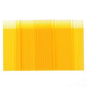 Image 2 - 100pcs / bag Disposable Eyelash Extension individual Micro Brush Applicators Mascara Wands for eyelash extension Tools wholesale