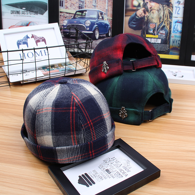 2018 New Skullies Beanies Solid Cotton Pumpkin Hat Fashion Casquette Korean Hip Hop Hiphop Beanies for Men Casquette Sailor Cap