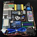 Frete grátis Starter Kit/Kit de Aprendizagem/com um dedicado fonte de alimentação 9V-1A para arduino com Caixa de Varejo