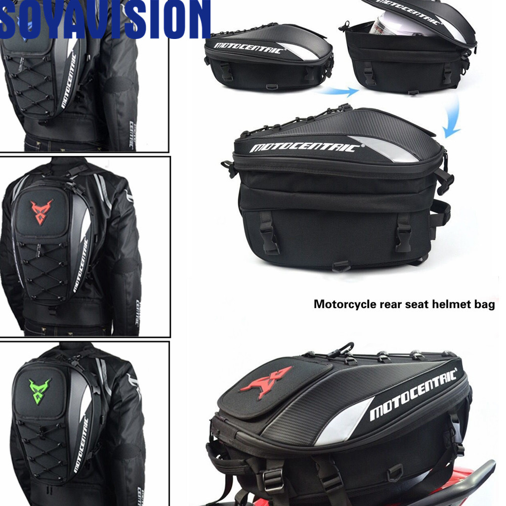 Universal For Motorcycle Bags Luggage Saddle Bags Tail Bag Multifunction Motorcycle Rear Seat Bag High Capacity Motorcy Delicacies Loved By All Automobiles & Motorcycles