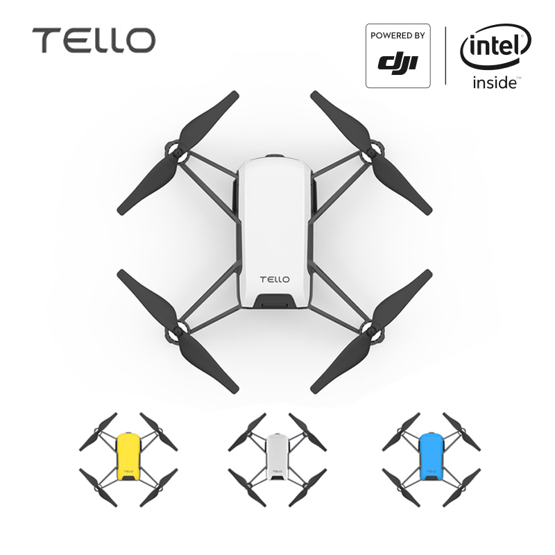 DJI Tello Camera Drone Ryze Tello Drones with Coding Education 720P HD Transmission Quadcopter FVR Helicopter EU квадрокоптер dji ryze tello с камерой белый