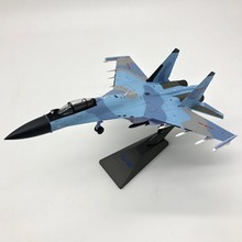 1:72 Scale Model Su35 Su-35 alloy material airplane jet Military hobby free shipping