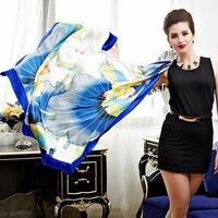 2018 Hot Style Chinese Wind Silk Scarf Silk Scarf Summer Clear Dutch Silk Scarf Silk Scarves