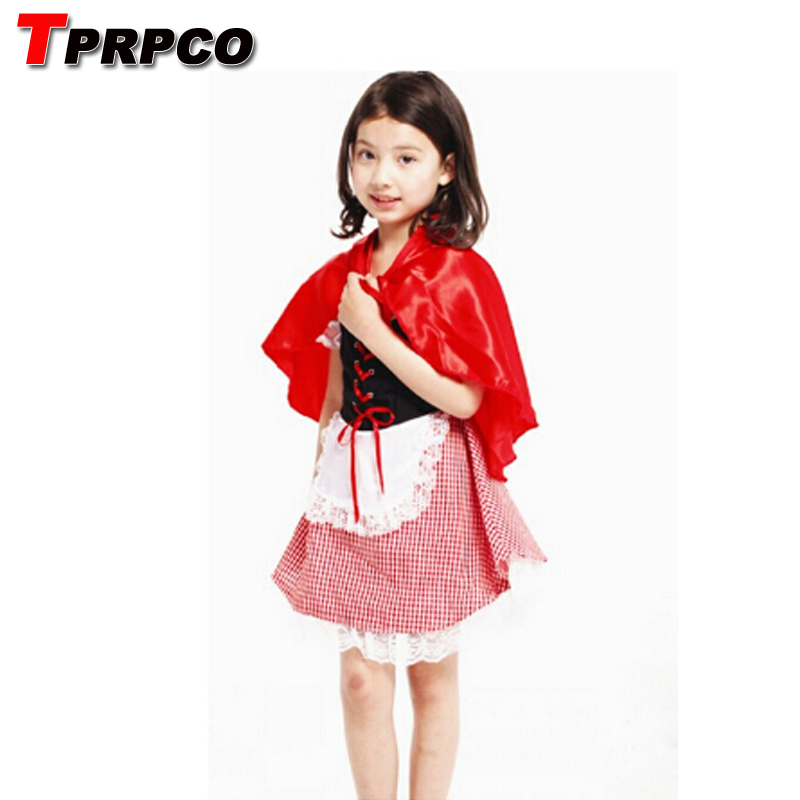 TPRPCO Women cosplay anime paternity mother of women over Meng cute Little Red Riding Hood Halloween Stage Set NL101