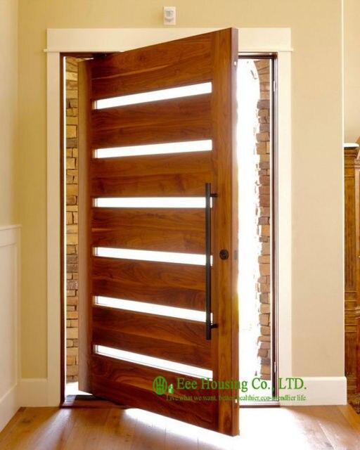 Modern Pivot Front Door For Apartments, External Pivot Doors, Custom Made  Pivot Doors