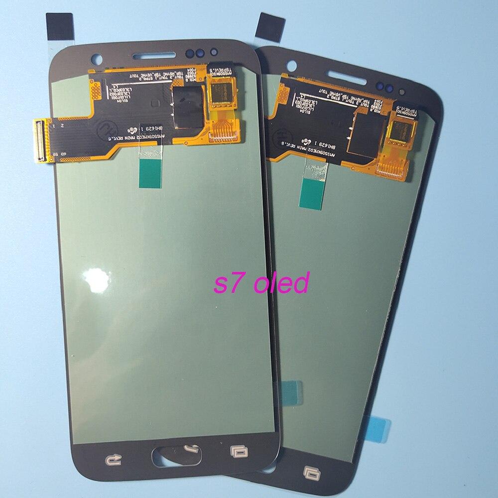OLED LCD pour SAMSUNG Galaxy S7 G930 G930F LCD écran tactile numériseur pour SAMSUNG S7 G930F SM-G930F assemblée TFT - 5