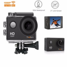 Action Camera HD 1080P Sports Camera with Wifi 30M Underwater Camera 12Mp Motorcycle Helmet Bike Action Cam for Sports
