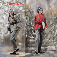 цена на VCF-2038 1/6 Scale Full Set Eighth Route Army Medical Soldier 12'' Collectible Action Figure Cosplay Dolls Norma/Luxury Version
