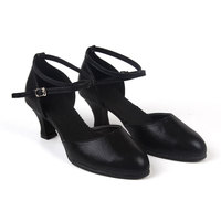 New Arrival Women Ladies Modern Dance Shoes Closed Toe Indoor Suede Sole Ballroom Wedding Party Dancing