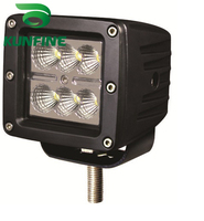 2014 New Arrival Waterproof 10 30V DC 18W High Power LED Work Light 3 0inch Optional