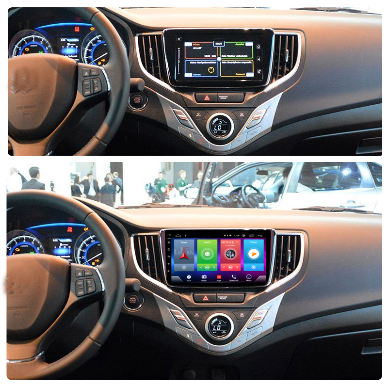Full Touch Car Android 8.1 Radio Player For Suzuki Baleno 2015-2018 Vehicle GPS Navigation Video Multimedia Built In Bluetooth
