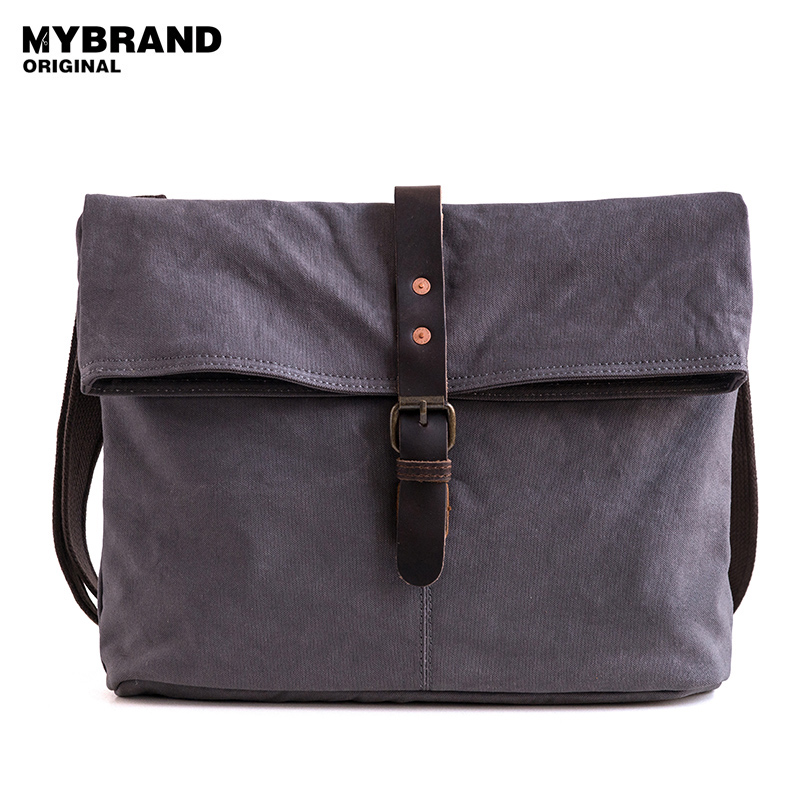 MYBRANDORIGINAL crossbody bag for women vintage canvas single shoulder bag for man messenger bag high quality canvas bag B137