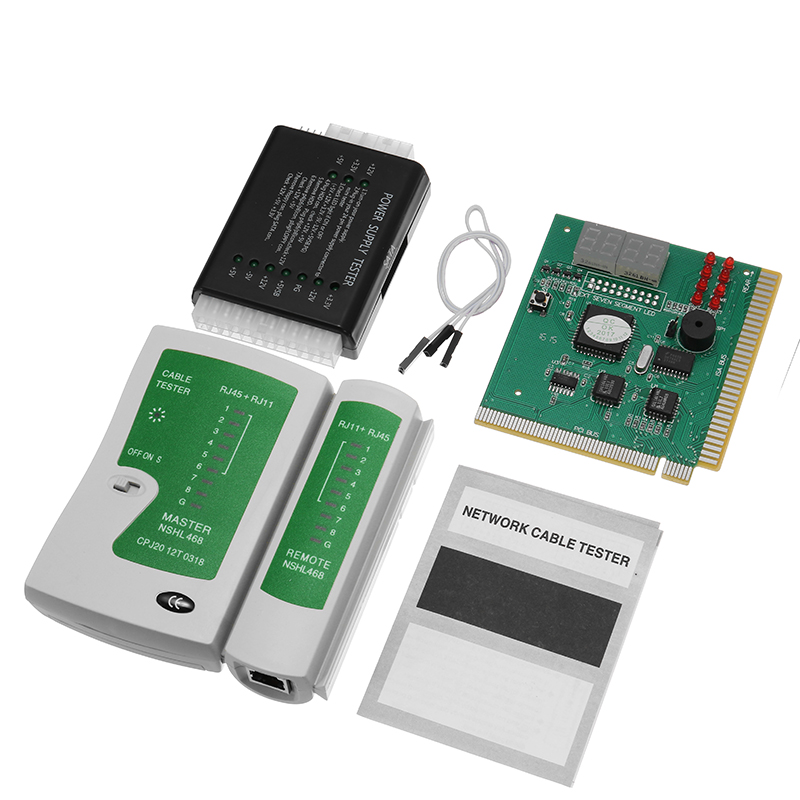 PC Network Test Kit Motherboard POST Analyzer Computer