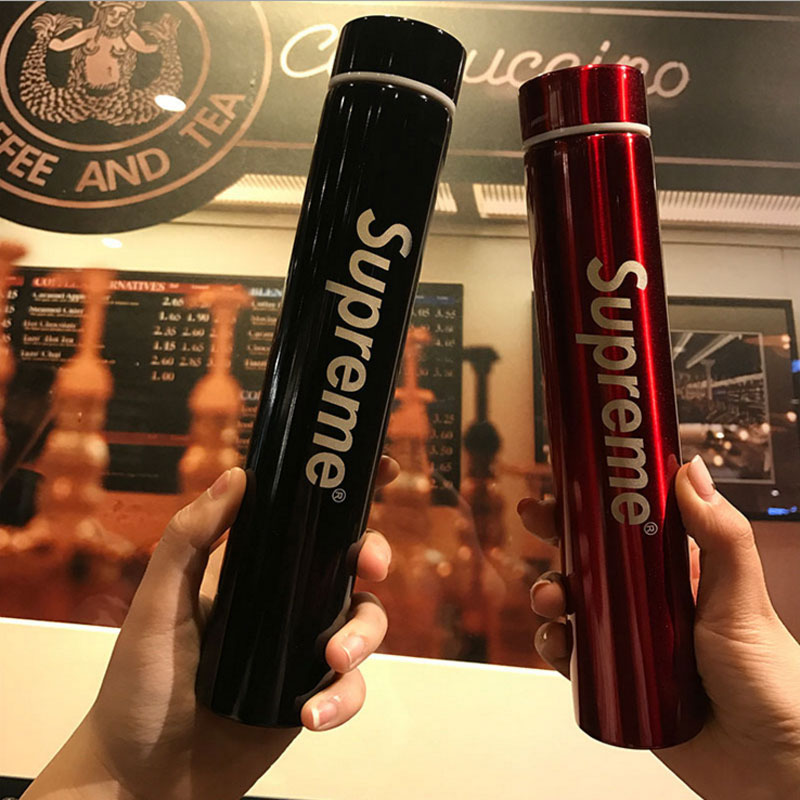 280ml Long Strip Supreme 304 Stainless Steel Water Bottles Bussiness Thermos Vacuum Thermocup Insulation 6 12h In Flasks Thermoses From Home