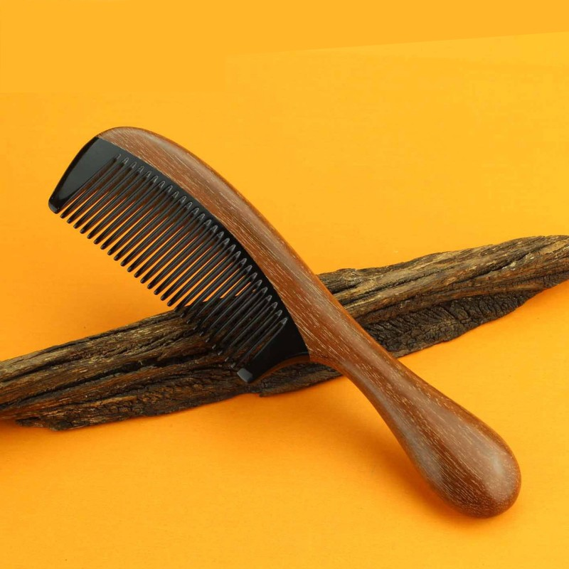 2018 Rushed Hairbrush Hair Care New Natural Handmade Red Sandalwood Boutique Comb Hairdressing Professional Health Wooden Combs