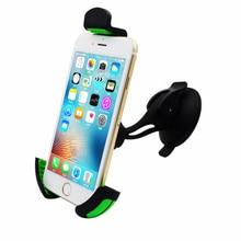 SMALL-EYE Hot Newest 360 Degrees Car Mobile Phone Holder Dashboard Windshield Mount  Kit Mobile Phone Holder GPS Car Mount 8100