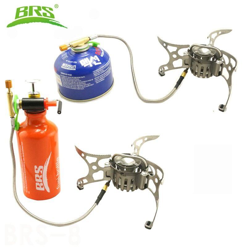 BRS 8 BRS мульти портативная газовая плита для кемпинга на открытом воздухе кухонная плита для пикника Складная горелка разветвитель тепла PK огонь клен FMS X2 - 2