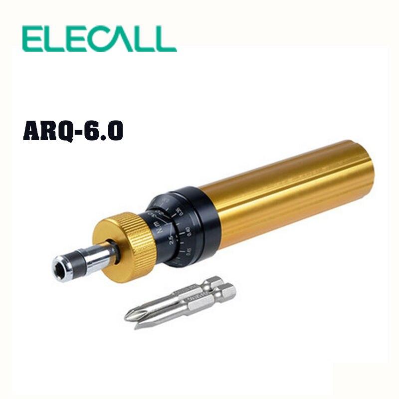 ELECALL ARQ 6 Torque Screwdriver With Phillips And Straight Screwdriver Precision Electric Screwdriver Set