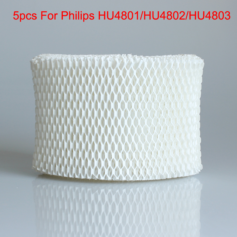 5pcs HU4102 humidifier filters,Filter bacteria and scale for Philips HU4801/HU4802/HU4803 Humidifier Parts top quality can track air humidifier hu4102 hepa filter fit for philips hu4801 hu4802 hu4803 free post