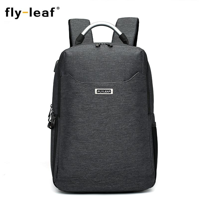 Flyleaf FL-9666# camera bag Camera Backpack External USB Charge Backpack waterproof professional camera bag For Canon/Nikon Digi рюкзак magma digi control backpack xxl