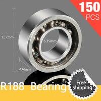 150pcs R188 Ceramic Bearing For Luminous Tri Fidget Hand Spinner Light In Dark EDC Tri Spinner
