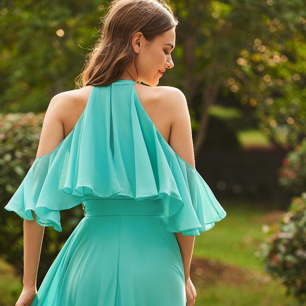 Dressv green scoop neck a line bridesmaid dress zipper up sleeveless ...