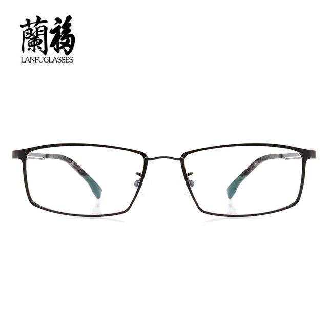 Оптических оправ бренд мужской полный оправы сплава очки простые очки Китай оправы для очков конструкций prescription8136