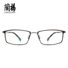 Marcos de anteojos marcos ópticos de marca de los hombres llenos de aleación llanura gafas gafas de monturas de gafas de China diseños prescription8136