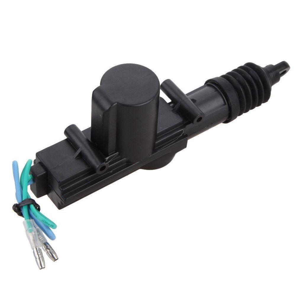 1PC Car Auto Universal 2 Wire Door Lock Actuator dc 12V Heavy Duty Power Slave Door Lock Actuator Auto Locking System Motor