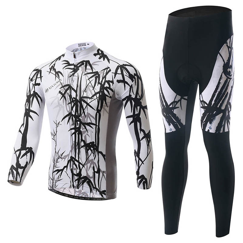 XINTOWN Mtb Cycling Suit Long Cycling Sets Bike Clothing Spring and Autumn Moisture Perspiration Quick Sweater Riding Equipment