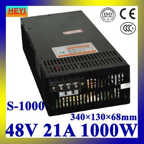 LED power supply  48V 21A 100~120V/200~240V AC input single output switching power supply 1000W 48V transformer 1200w 48v adjustable 220v input single output switching power supply for led strip light ac to dc