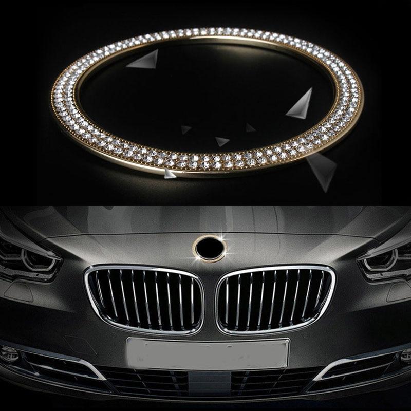 Car Circle CHROME Ring Cover For  5 Seriseor BMW 5 Series F10 F11 car accsesories car styling защитные аксессуары car pakistan bmw alpina