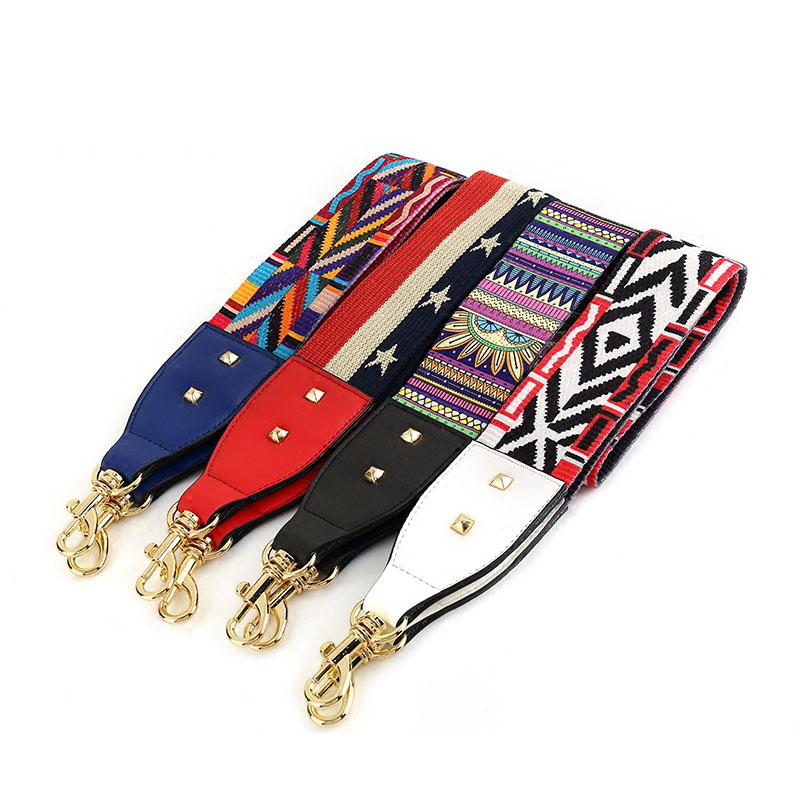 Women New Handbags Strap Woven Design Strap For Shoulder Bag Belts For Handbag Women Bags Strap Bag Accessories Bags Parts S084