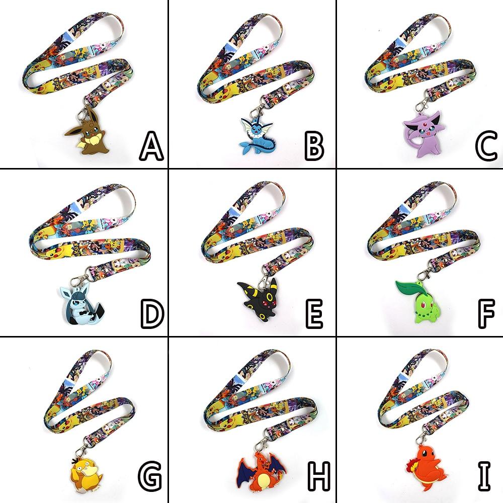 game-pocket-monster-font-b-pokemon-b-font-eevee-vaporeon-espeon-psyduck-charizard-zapdos-pvc-pendant-keychain-phone-rope-strap-lariat-lanyard
