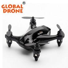 Mini drone ( 5,5 x 5,5 x 2,5 cm ) modêlo X165 de 4 canais controlado até 20 m de distância. Giroscópio 6-eixo sistema para permitir vôo estável. Método de carregamento por USB ( aprox. 25 min. ) e autonomia de vôo de 5 minutos.