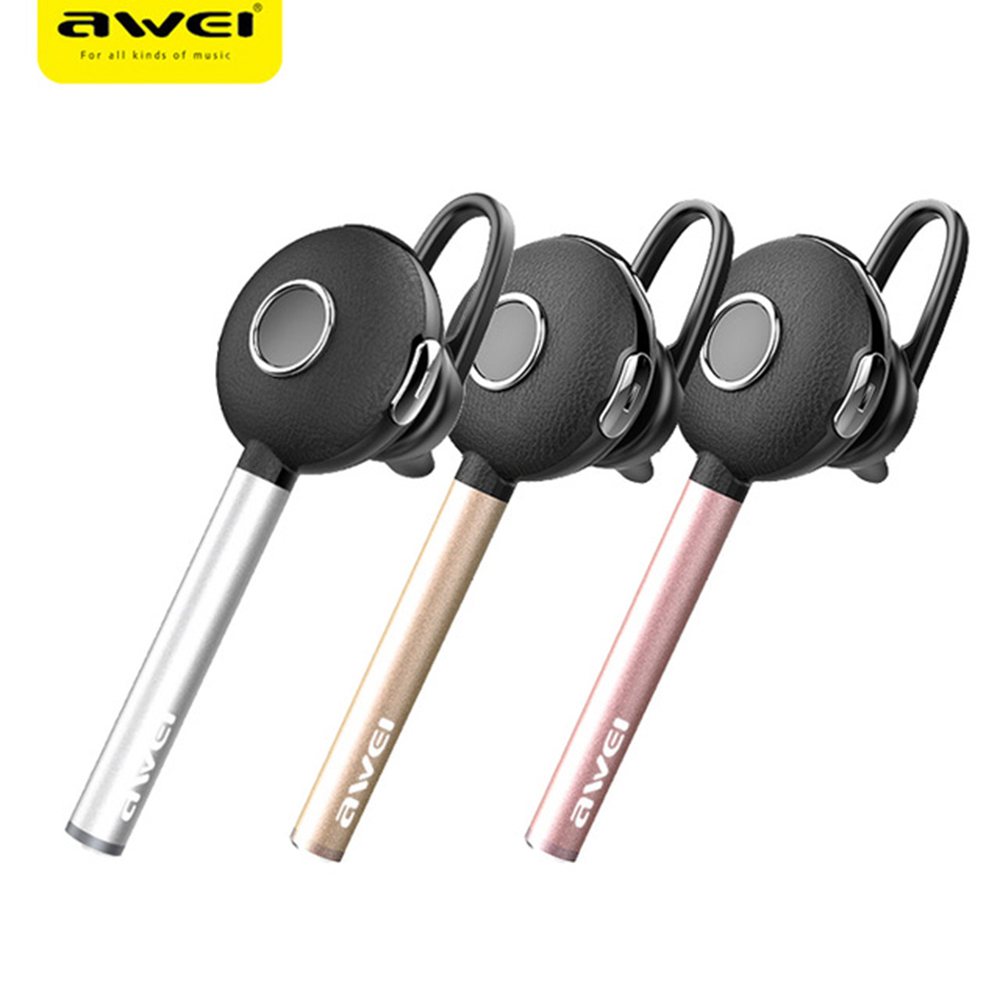 AWEI A825BL Bluetooth Headphones Music Earphone Stereo Wireless Headset Earbuds For iPhone Xiaomi Samsung J5 J7 S6 S7 Sony Phone wireless headphones v4 1 bluetooth earphone stealth sports headset ear hook earpiece with mic for iphone 7 7s samsung xiaomi
