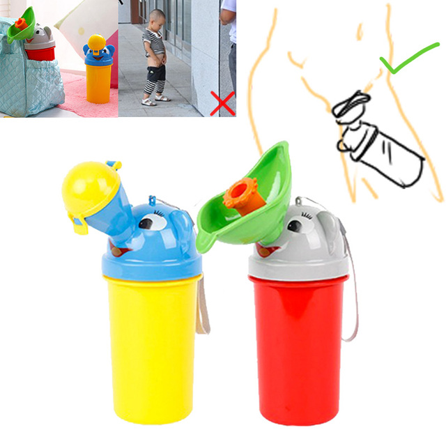 Portable Convenient Travel Cute Urinals for Infants and Toddlers