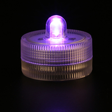 Free Shiping Factory Vendor SUPER Bright Single Submersible Led Tea Light for Wedding Floralytes 11 COLORS for your options