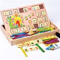 0.8 КГ Деревянный Многофункциональный Цифровой Box Монтессори Образовательные Детские Игрушки учебную Образование Математика Игрушки Математика Для Детей