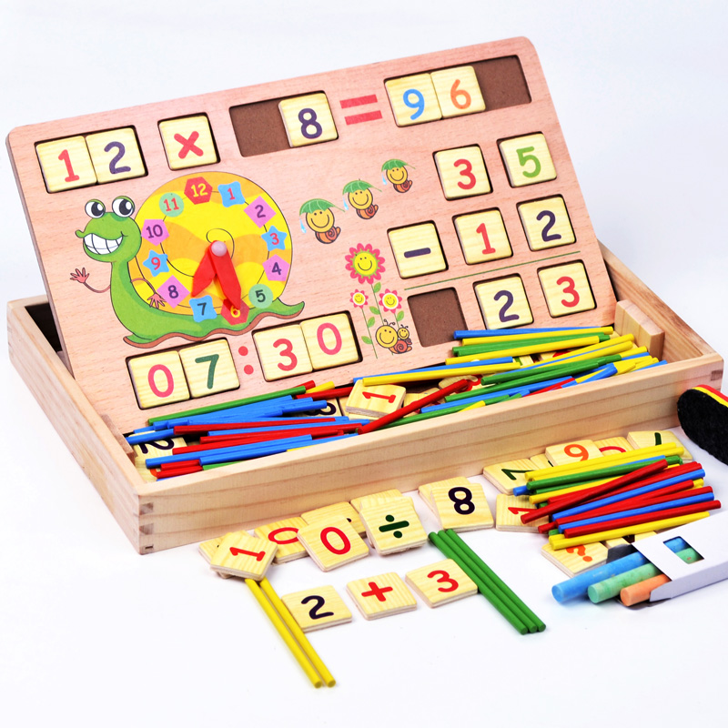 Math Toys For Kids : Aliexpress buy kg wooden multifunctional digital