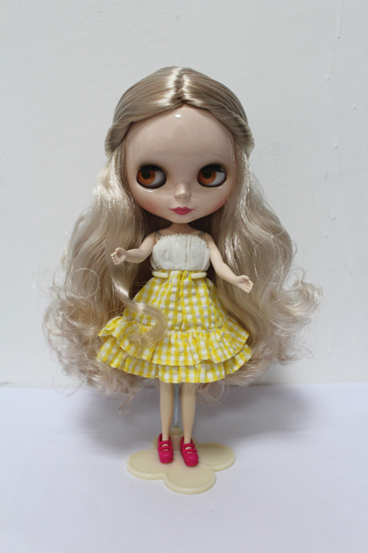 Free Shipping big discount RBL-158DIY Nude Blyth doll birthday gift for girl 4colour big eyes dolls with beautiful Hair cute toy free shipping big discount rbl 288diy nude blyth doll birthday gift for girl 4colour big eyes dolls with beautiful hair cute toy