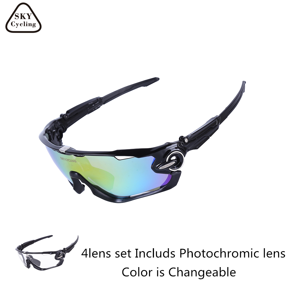 3412c2d935 Detail Feedback Questions about SKY 2017 Polarized Cycling Sunglasses UV400  Photochromic Bike Glasses Men Women Bicycle Goggles Sports Eyewear Gafas ...