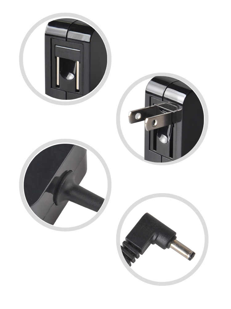 19V 1.75A 2.37A Collapsible Power Adapter Charger For Asus X201E X200T S200 S200E S200L X202E F201E Q200E 4.0mm * 1.35mm